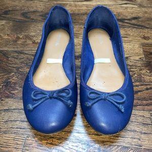 Blue Women's Ballet flats size 7